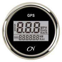 CN-Instrument GPS-Tacho Digital schwarz/chrom