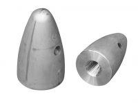 Wellen-Endanode Zink 30mm M20