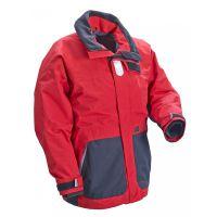 PLASTIMO Jacke Coaste, rot/schwarz, XL