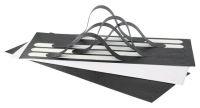 Deck Strip Antirutschst. 19mmx30cm 10St./VP schw.
