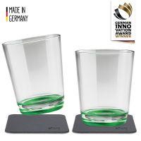 Magnet-Trinkbecher (2er-Set), Sour Green