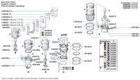 Elektroeinsatz für AQUASIGNAL 40 (direkter Kabela)