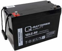 Q-Batteries 12LC-92 / 12V - 93Ah