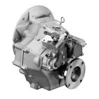 Vetus Getriebe TMC345 2,47:1 gerader Abgang