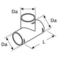 Webasto T-Stueck D90 90 Grad