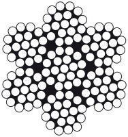 Edelstahldraht Wst.1.4401 7 x 19 2.0mm